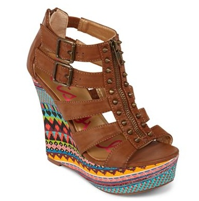 Betseyville Gladiator Wedge jcpenney