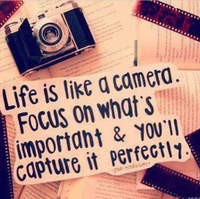 Life Is Like A Camera life quotes camera life important capture instagram instagram pictures instagram graphics instagram quotes focus perfectly