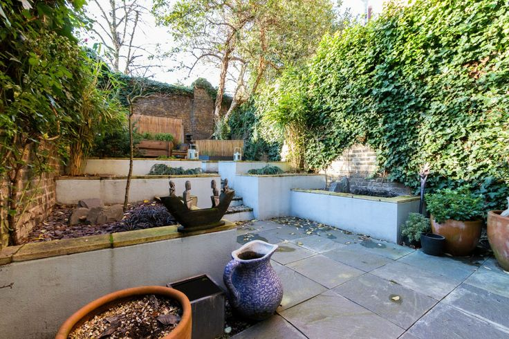 gardens and patios basement flats on pinterest terraced garden