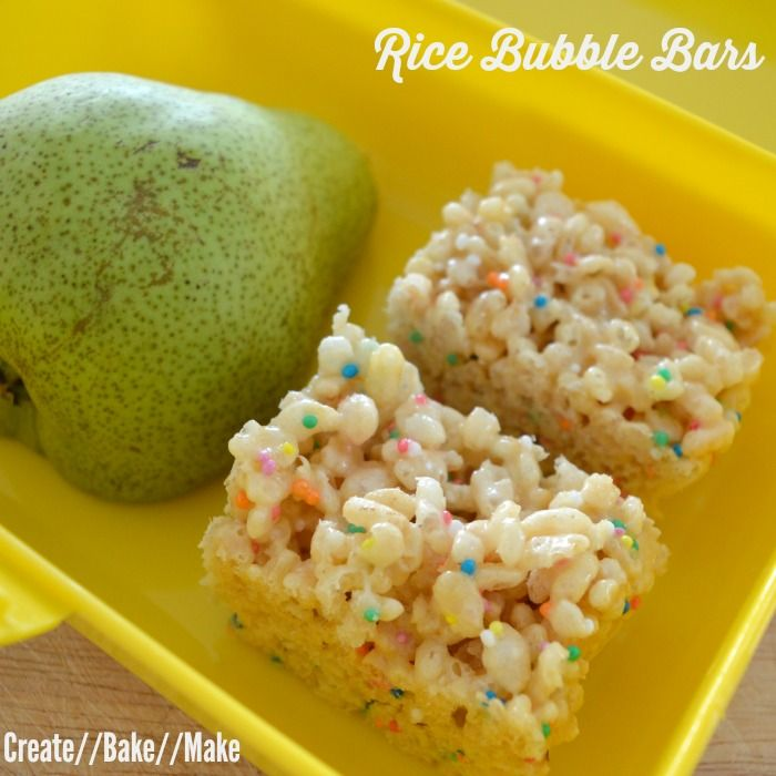 I have been meaning to make these three ingredient rice bubble bars for quite some time now and was also eager to try this recipe in my thermomix.