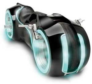 Tron style motorcycle: $55,000