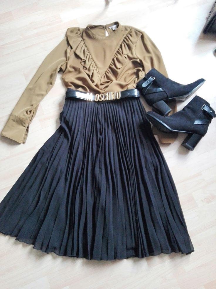 Volant and Plissee Fashion inspo