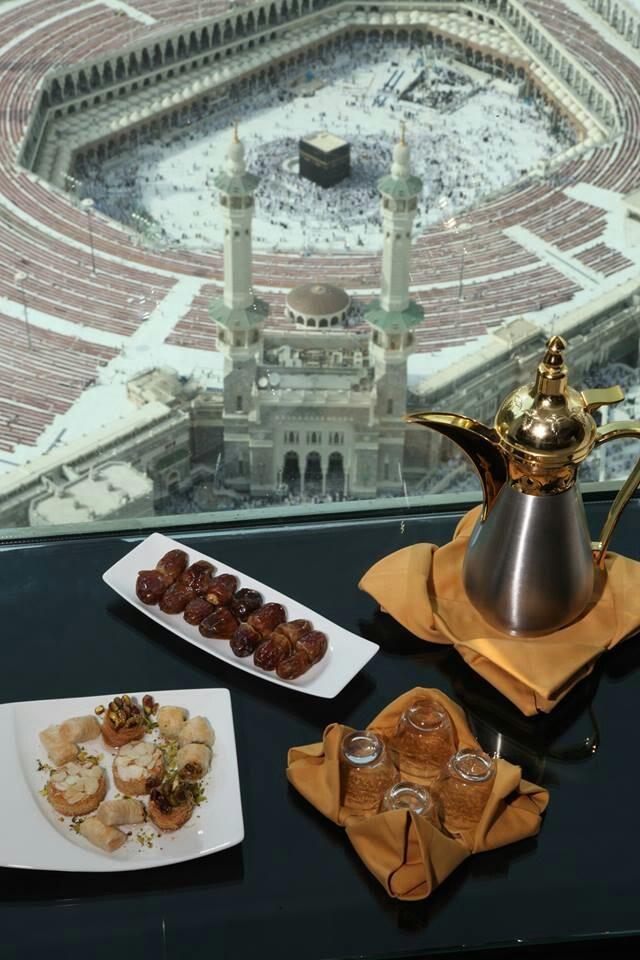 What a view from a hotel near the Al Masjid Al Haram