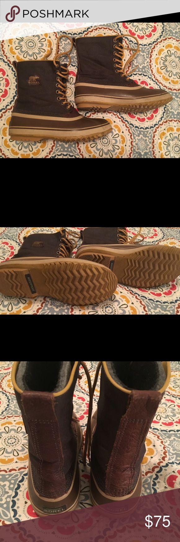 Sorel Men's Waterproof Winter Boots Men's Sorel waterproof, Winter boots. Size 9. Sorel Shoes Winter & Rain Boots