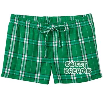 Sweet Dreams (Green) SarahBe Designs #customizedgirl #green #sweetdreams #pajama #shorts