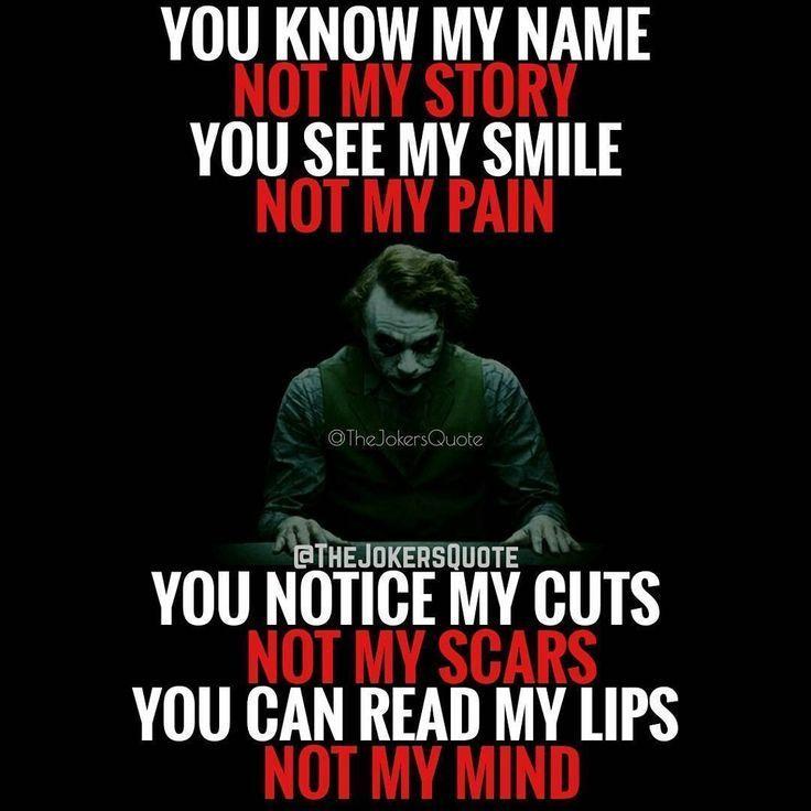 23 Joker-Zitate, mit denen du ihn mehr liebst Was ist Lüge in MIR? #lies #sc …   – First time mom