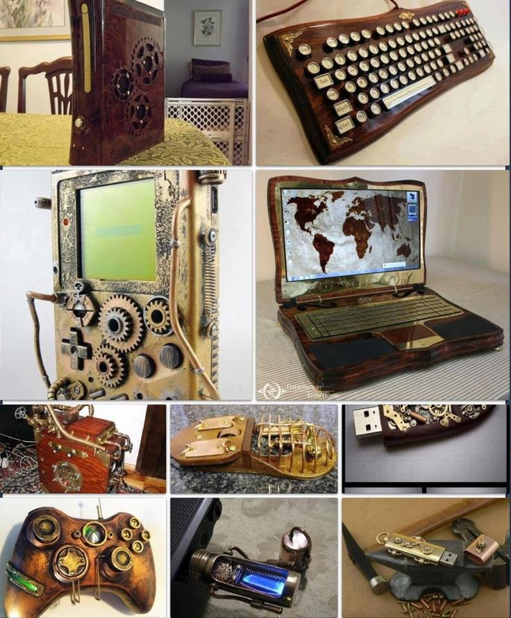 Awesome Steampunk Computer Gear