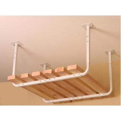 HyLoft 30 in. x 26 in. Pair of Customizable Ceiling Storage Racks-80842-10 at The Home Depot Any length - store kayak?