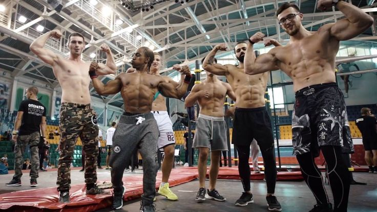 KENGURU PRO STREET WORKOUT WORLD CUP 2016 STAGE IN KHANTY-MANSIYSK
