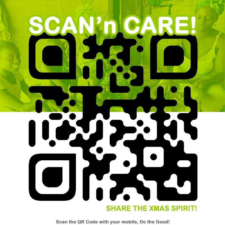 OXFAM - efficiency against poverty - share it to the world