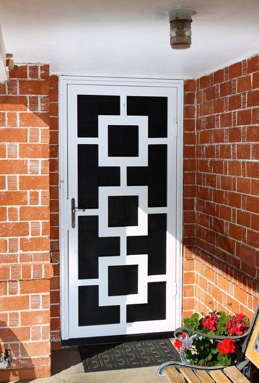 8 Best Security Doors Images On Pinterest Security Screen Doors Wrought Iron And Front Doors