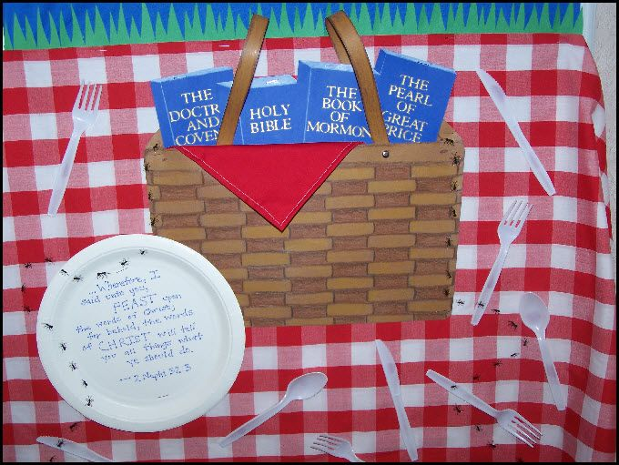 Picnic Bulletin Board