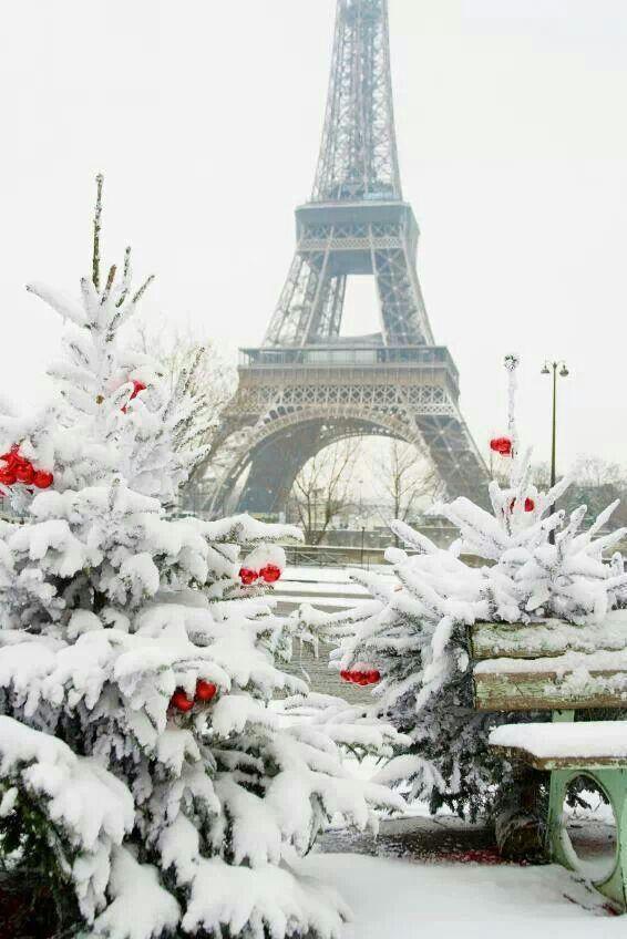 Paris la ciudad del amor en Navidad
