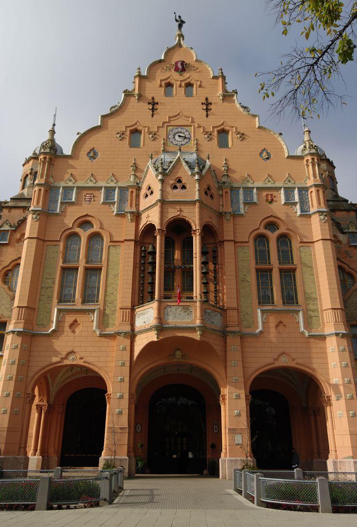 Famous Kecskemét City Hall