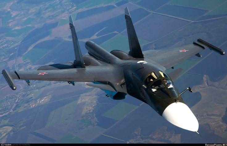 Russian Air Force Sukhoi Su-34