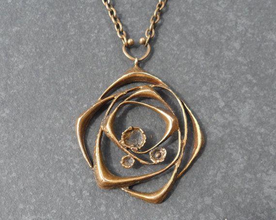 Vintage sten laine orbital bronze pendant and chain by karl vintage sten laine orbital bronze pendant and chain by karl laine finland f03 bronze pendant pendants and vintage aloadofball Gallery