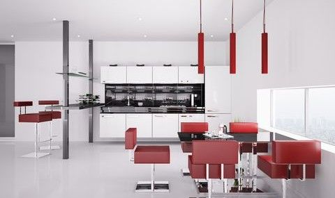Red Kitchen Ideas from the House of Rumpley. http://house-of-rumpley.com