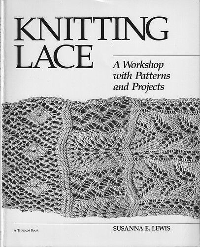 A workshop for knitting lace. The whole book is at this link.