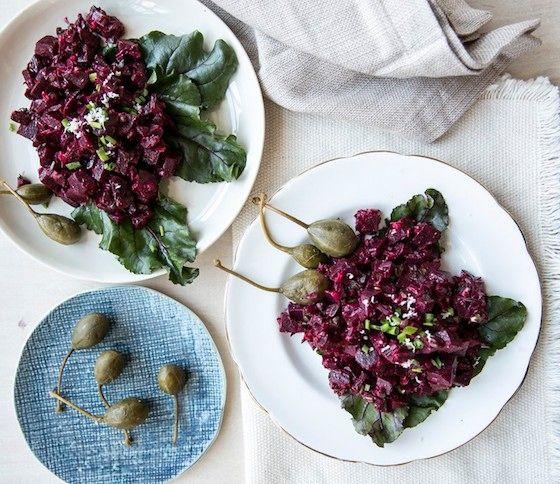 Beets — Beet Tartare | Eat -- Savory. | Pinterest