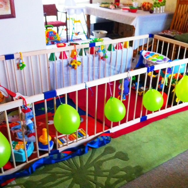 Marvelous Caterpillar Party Play Pen For The Littlies