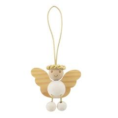 Enkeli Iloinen tree decoration - Aarikka angel