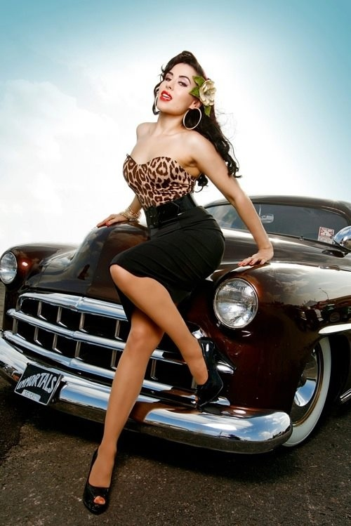 pin girls and cars - photo #6