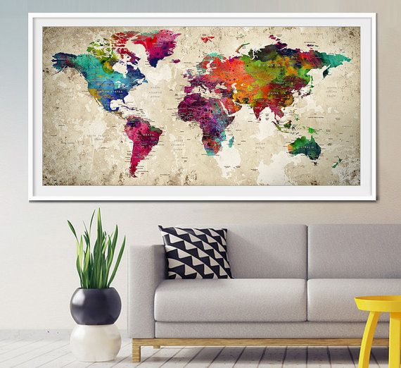 11 best ciencias sociales primaria images on pinterest earth push pin world map large push pin travel world map world map poster push pin travel map push pin map art print pushpin wall art l1 gumiabroncs Choice Image