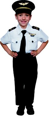 Boys Airline Pilot Costume