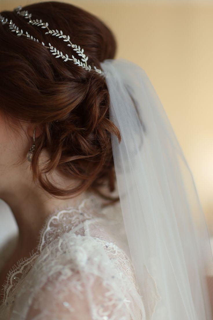 25+ Best Ideas About Headband Veil On Pinterest | Veil Wedding Hair Wedding Cape Veil And ...