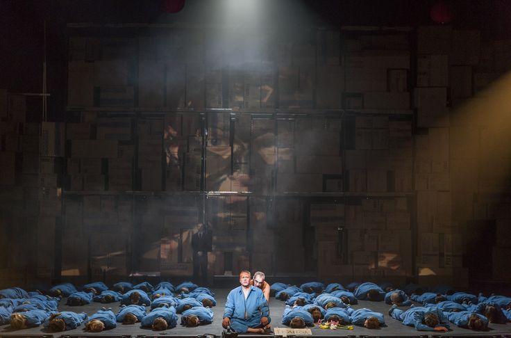 Turandot - Neal Cooper (Calaf), Christopher Gillett (Emperor Altoum) - #TurandotBelfast