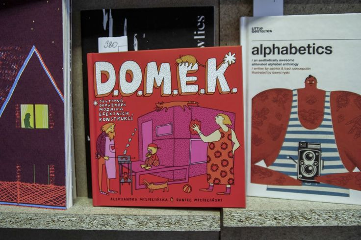 Polish book for children about 35 houses with specific architecture