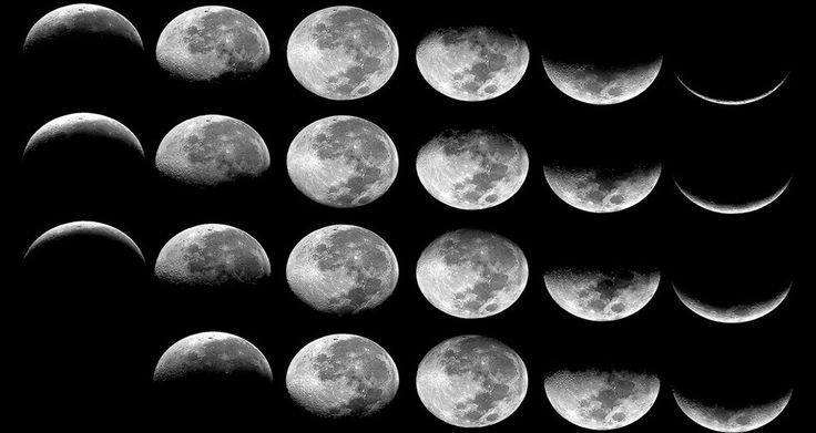 Why does the moon appear to change its shape everyday ?