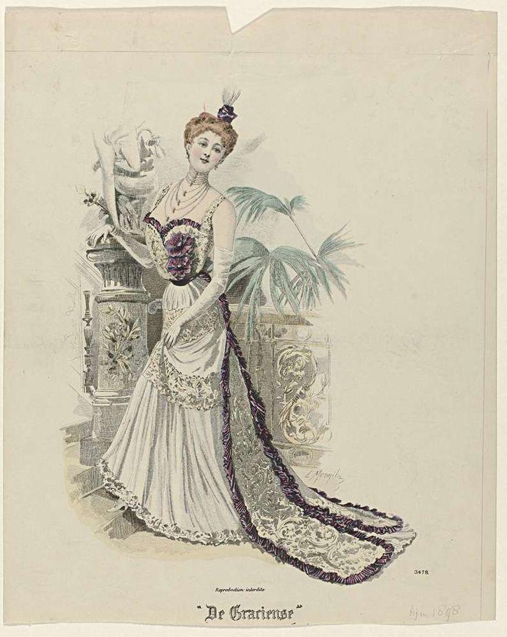 De Gracieuse, Geïllustreerde Aglaja, 1898, No. 3478