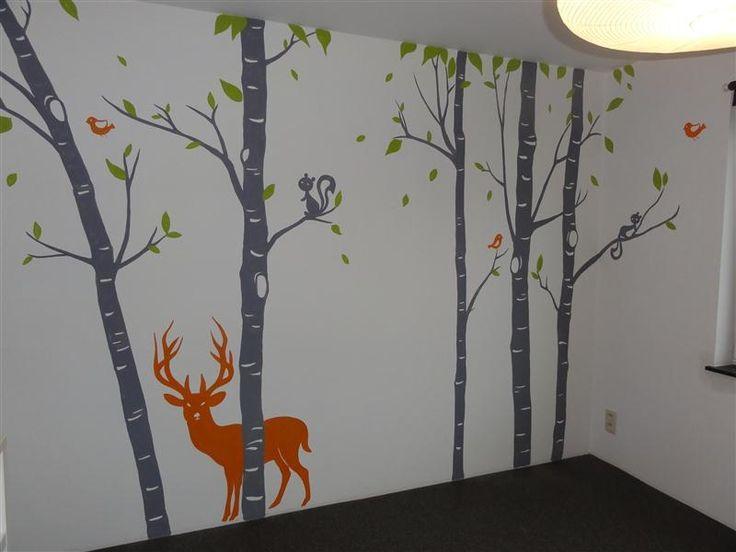 Slaapkamer Muurschilderingen