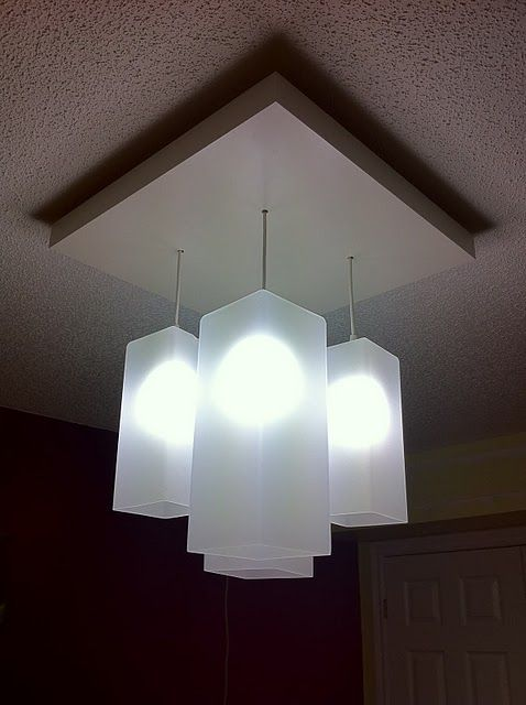 Inexpensive (and Gorgeous!) Ikea Hacked Overhead Lighting