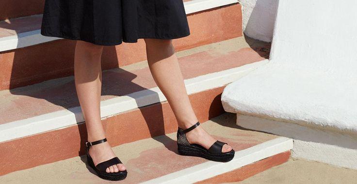 10 x comfortabele flatform-sandalen voor de zomer