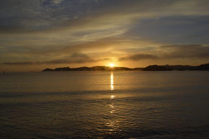 Sunrise in NZ
