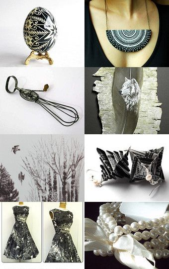 Black and white beauty by Raluca Robu on Etsy--Pinned with TreasuryPin.com