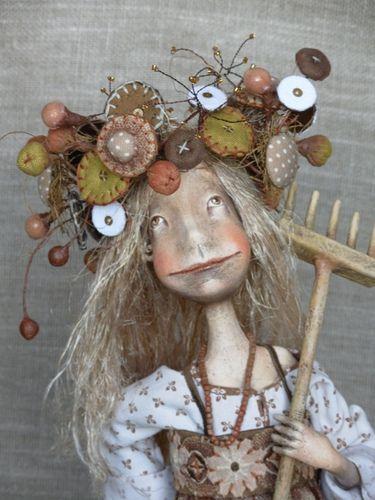 Anna Zueva and her Art Dolls Like  Artist · Perm, Russia