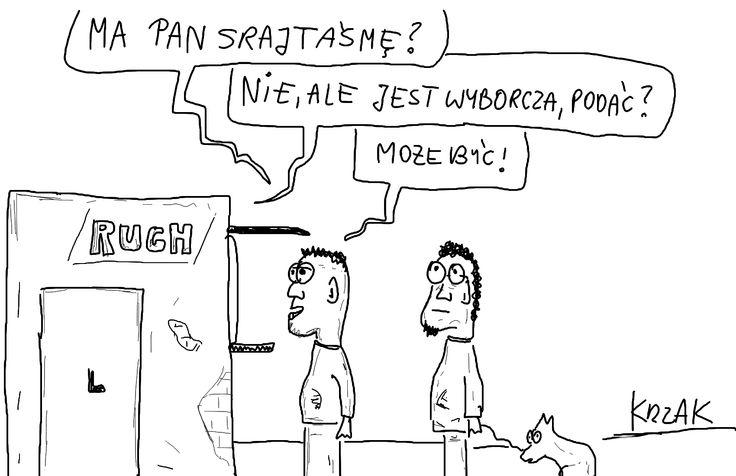 #wyborcza #srajtaśma