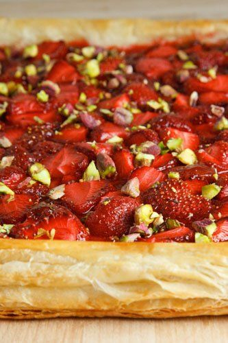 Strawberry tart. Maybe when summer comes around again...