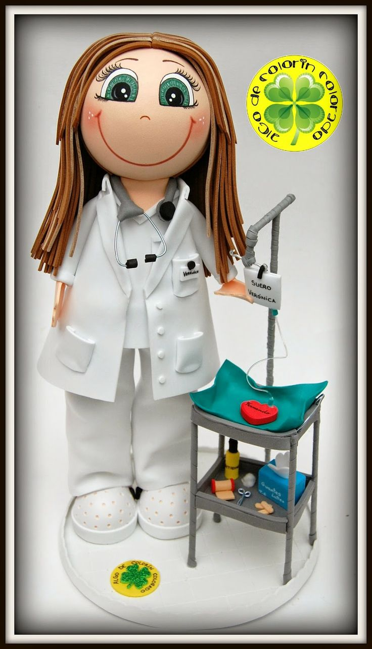 Algo de Colorín Colorado Manualidades: Fofucha Enfermera Verónica (Día de San Valentín)