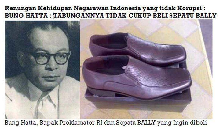 Sepatu Bung Hatta yang tak terbeli..