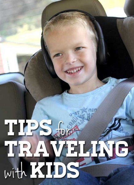 Tips for Traveling with Kids - great for the summer trips coming up!