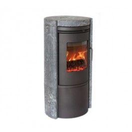 De #Morso 6150 is een ongeëvenaarde combinatie van comfort en warmte opslag. De Morso 6150 is gebouwd in gietijzer aangevuld met een ruime hoeveelheid speksteen, wat zorgt voor een hoog rendement. #Fireplace #Fireplaces #Houthaard #Houtkachel #Kampen #Interieur