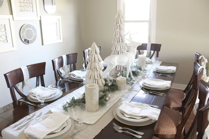 Winter Dinner Party | The Renovated Acre
