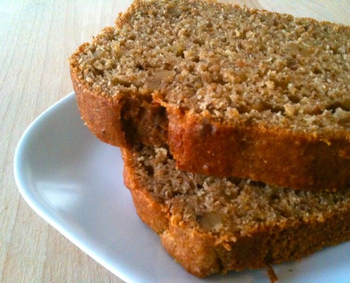 Quick And Easy Banana Bread Recipe - will try with brown rice syrup