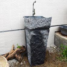 G654 Granito gris oscuro <strong> Baño </ strong> Stone pedestal…