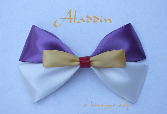 aladdin hair bow