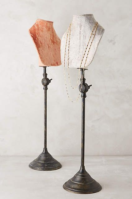 Standing Jewelry Bust - anthropologie.com